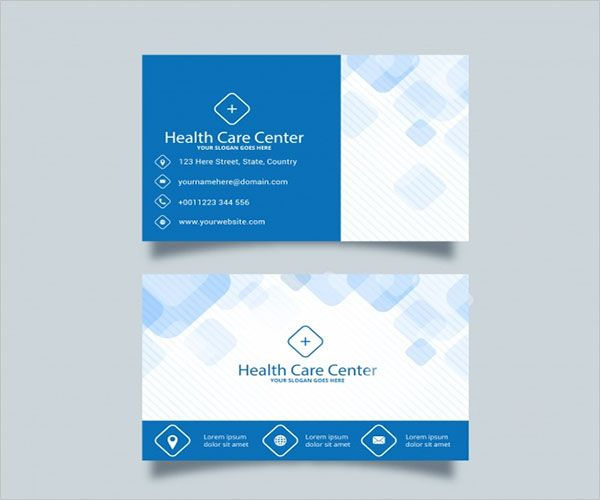 Standard Clinic Business Card Design
