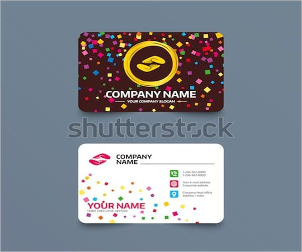Vector Charity Business Card Design
