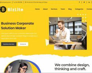 Bizlite Business WordPress Theme