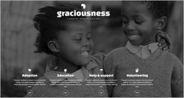 Charity Responsive Joomla Templates