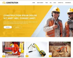 Construction Architecture WordPress Theme