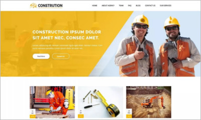 Construction Architecture WordPress Theme