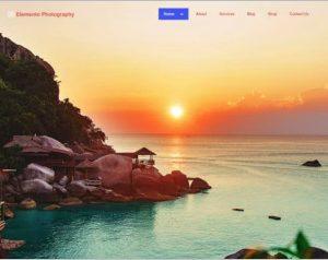 Elemento Photography WordPress Theme