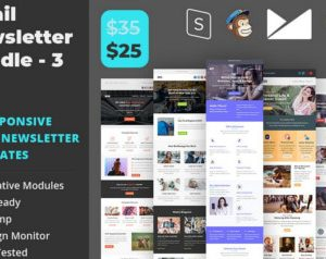Email Newsletter Template Bundle