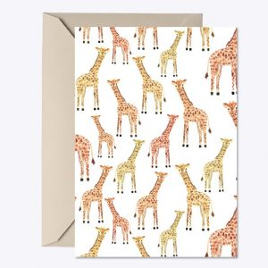 Giraffe Baby Shower Invite12
