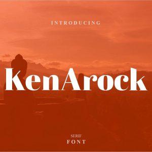 Kenarock - Serif Font -Free Download1