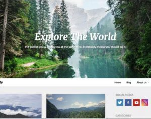 LightBlogify WordPress Theme