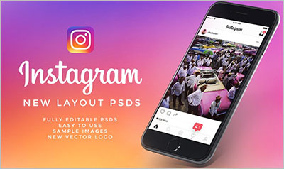 NEW Instagram UI Kit