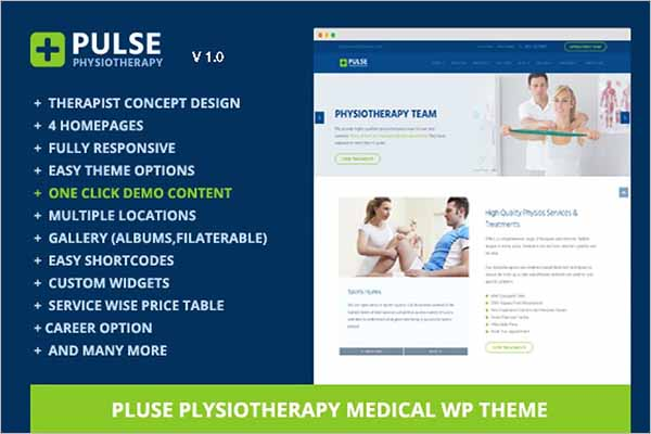Physiotherapy Medical WordPress Theme