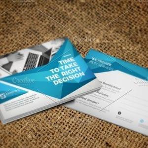 Postcard Template designs