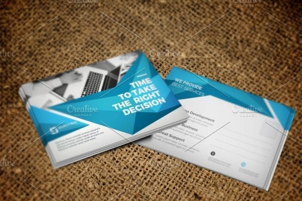 Postcard Template designs