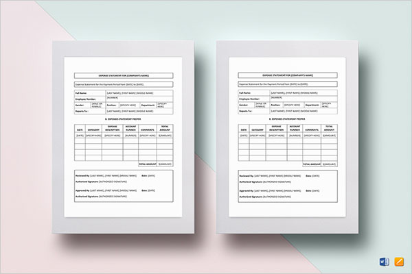 Quarterly Blank Income Statement Template