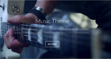 Responsive Music WordPress Themes