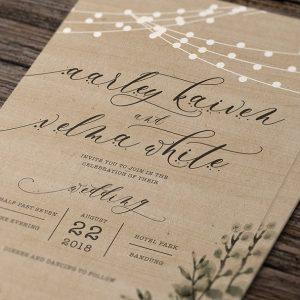Rustic Wedding Invitation Suite3