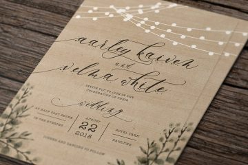 Rustic Wedding Invitation Suite3