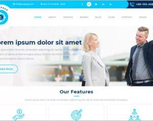 Safha One Page WordPress Theme