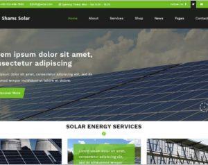 Shams Solar WordPress Theme