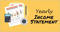 31+ Yearly Income Statement Templates