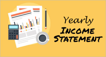 Yearly Income Statement Template