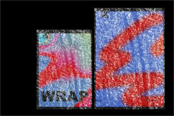 Bubble Wrap Texture Mockup - Free Download