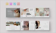 Fashion Postcard - Postcard Template