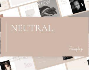 Neutral Keynote Template