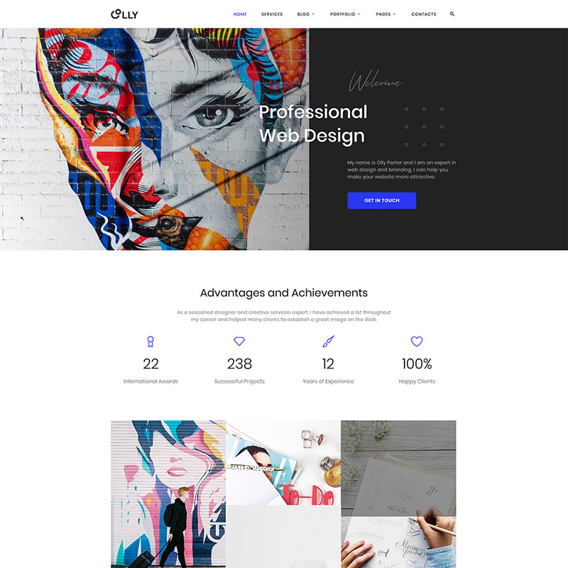 Advertising Agency HTML Template