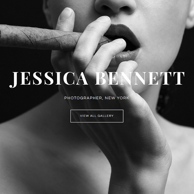 Photographer Site Template