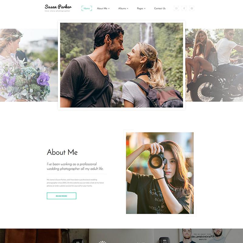 Online Portfolio Web Template