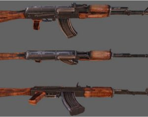 AK-74 Assault Rifle Model