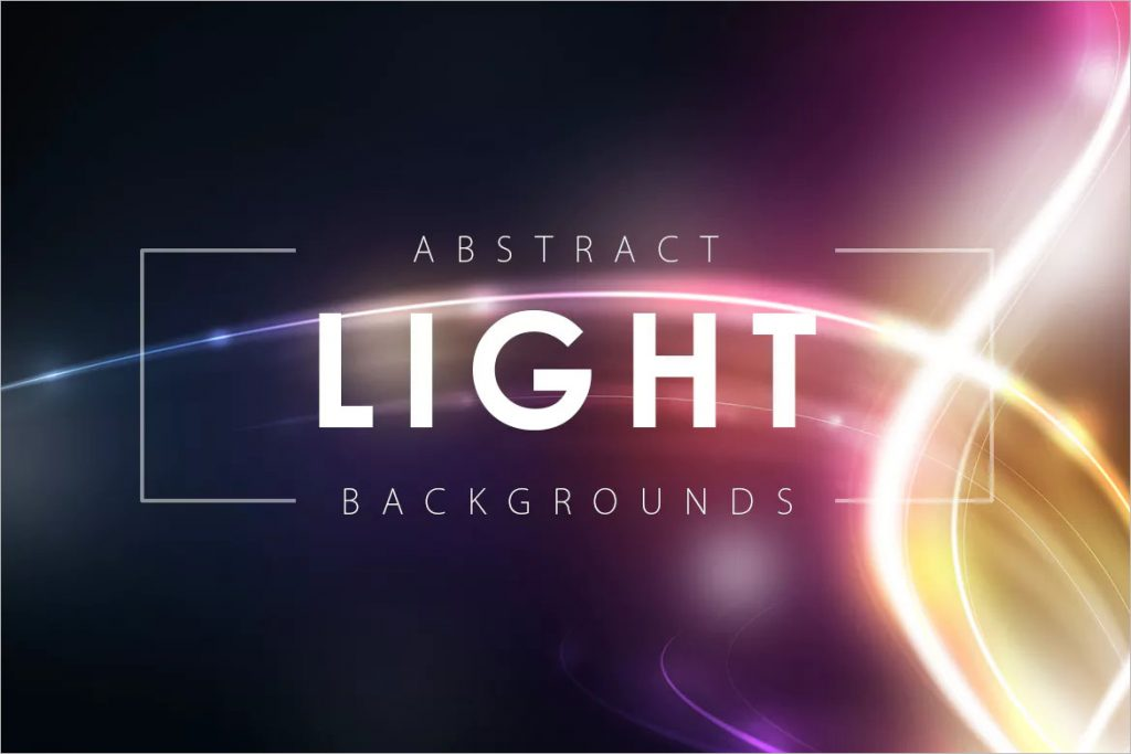Abstract Dancing Light Backgrounds