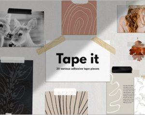 Adhesive Tape Pieces