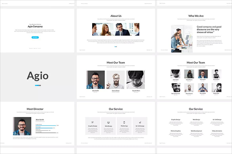 Agio : Keynote Presentation