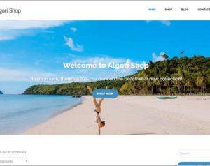 Algori Shop WordPress Theme