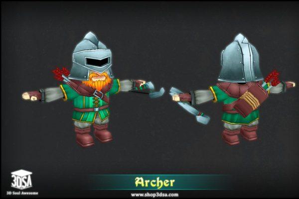 Archer - 3D Fantasy