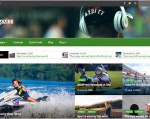 Avid Magazine WordPress Theme