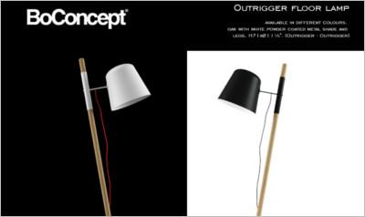 Boconcept Outrigger Floor Lamp