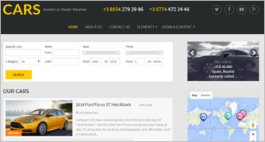 Car Dealer Joomla Themes & Templates