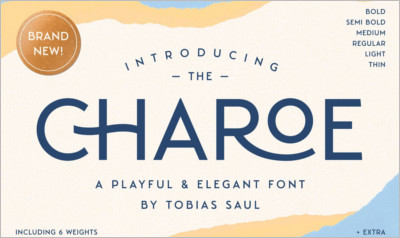 Charoe Typeface Extras