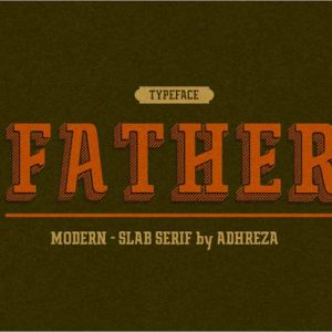 Father Typeface