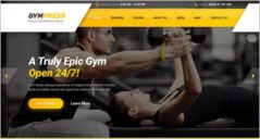 18+ Fitness WordPress Themes