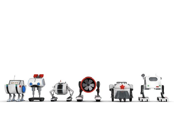 Funny Robots Pack