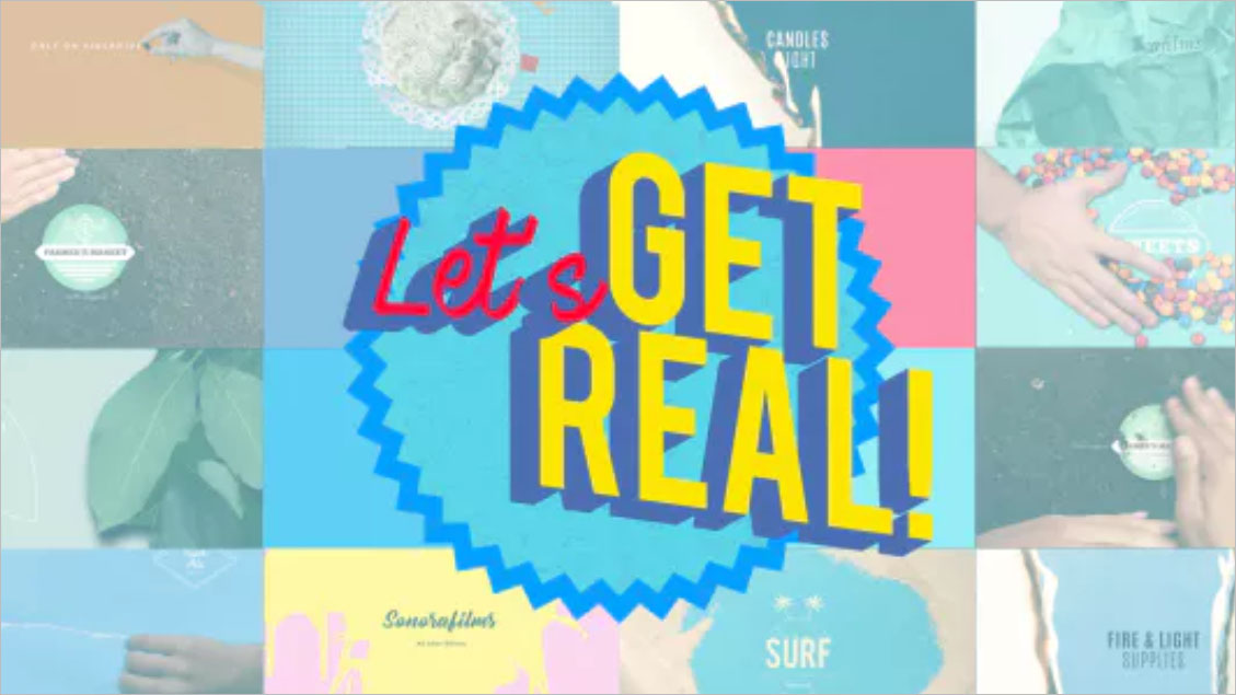 Get Real Logo Bundle