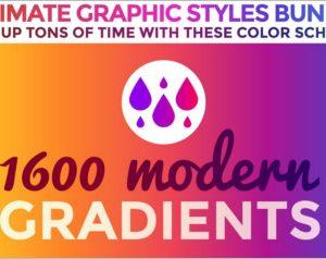 Gradients Graphic Styles Bundle