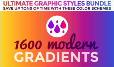 Gradients Graphic Styles Bundle