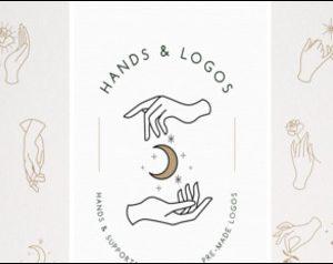 Hands & Logo