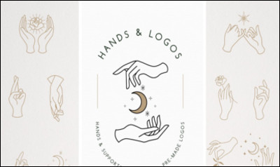 Hands Logo Templates