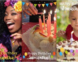 Happy Birthday Snapchat filters