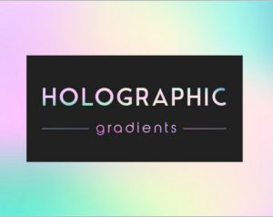 Holographic gradients