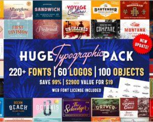 Huge Typographic